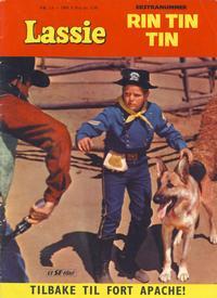 Cover Thumbnail for Lassie Ekstra Rin-Tin-Tin [Rin Tin Tin] (Serieforlaget / Se-Bladene / Stabenfeldt, 1959 series) #1a/1960