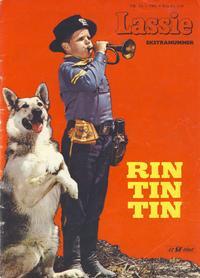 Cover Thumbnail for Lassie Ekstra Rin-Tin-Tin [Rin Tin Tin] (Serieforlaget / Se-Bladene / Stabenfeldt, 1959 series) #1a/1961