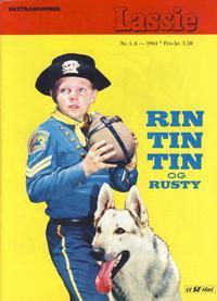 Cover Thumbnail for Lassie Ekstra Rin-Tin-Tin [Rin Tin Tin] (Serieforlaget / Se-Bladene / Stabenfeldt, 1959 series) #5a/1961