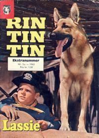 Cover Thumbnail for Lassie Ekstra Rin-Tin-Tin [Rin Tin Tin] (Serieforlaget / Se-Bladene / Stabenfeldt, 1959 series) #5a/1963