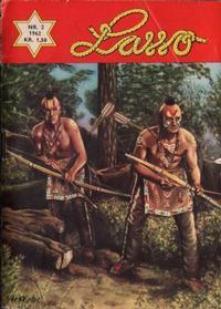 Cover Thumbnail for Lasso (Serieforlaget / Se-Bladene / Stabenfeldt, 1962 series) #2/1962
