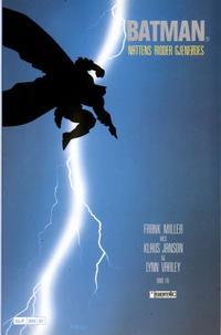 Cover Thumbnail for Batman: Nattens ridder (Semic, 1987 series) #1 - Nattens Ridder gjenfødes