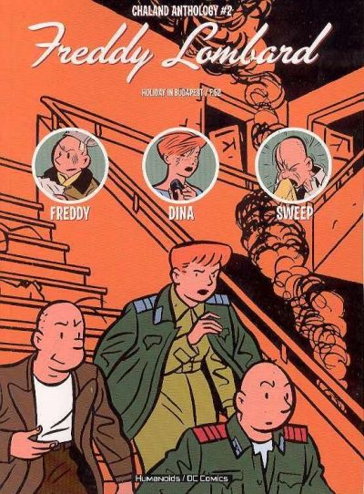 Cover for Chaland Anthology: Freddy Lombard (DC, 2004 series) #2