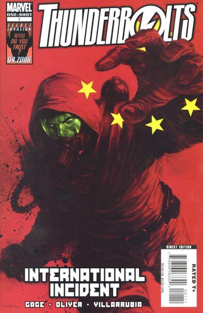 Cover for Thunderbolts: International Incident (Marvel, 2008 series) #1