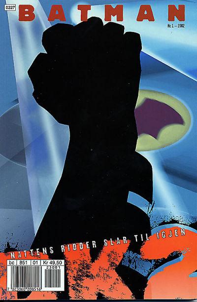 Cover for Batman: Nattens ridder slår til igjen (Hjemmet / Egmont, 2002 series) #1