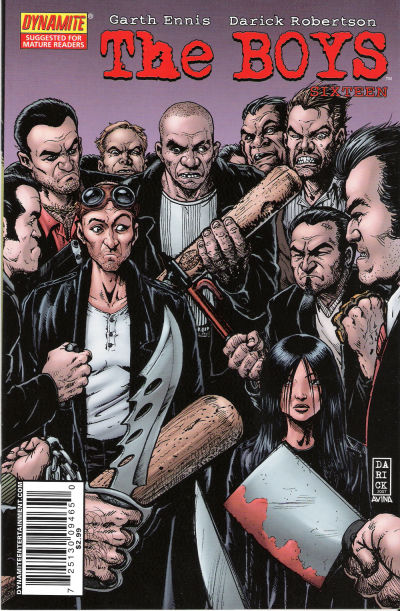 Cover for The Boys (Dynamite Entertainment, 2007 series) #16