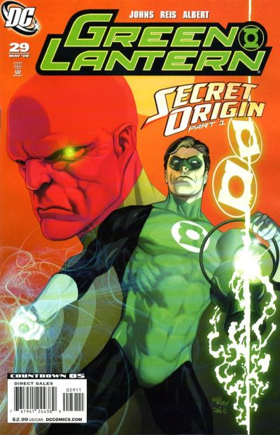 Cover for Green Lantern (DC, 2005 series) #29