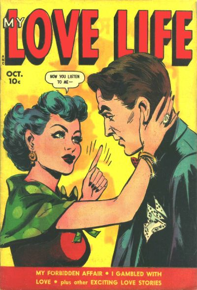 Cover for My Love Life (Fox, 1949 series) #8