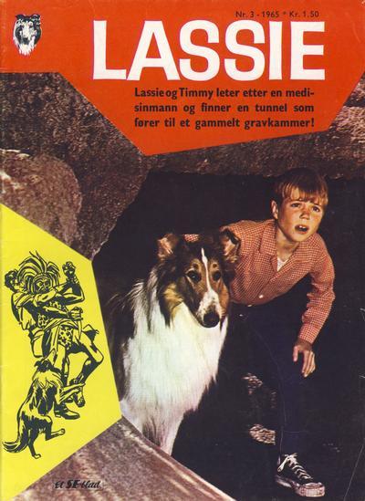 Cover for Lassie (Serieforlaget / Se-Bladene / Stabenfeldt, 1959 series) #3/1965