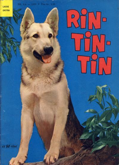 Cover for Lassie Ekstra Rin-Tin-Tin [Rin Tin Tin] (Serieforlaget / Se-Bladene / Stabenfeldt, 1959 series) #4a/1959