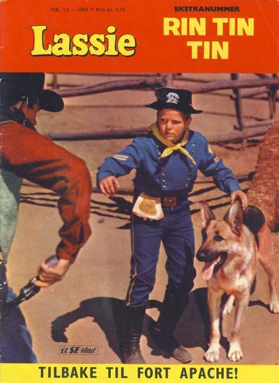 Cover for Lassie Ekstra Rin-Tin-Tin [Rin Tin Tin] (Serieforlaget / Se-Bladene / Stabenfeldt, 1959 series) #1a/1960