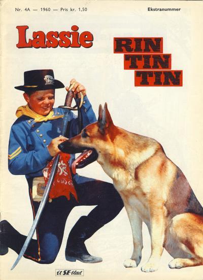 Cover for Lassie Ekstra Rin-Tin-Tin [Rin Tin Tin] (Serieforlaget / Se-Bladene / Stabenfeldt, 1959 series) #4a/1960
