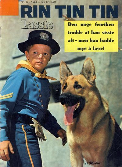Cover for Lassie Ekstra Rin-Tin-Tin [Rin Tin Tin] (Serieforlaget / Se-Bladene / Stabenfeldt, 1959 series) #1a/1963