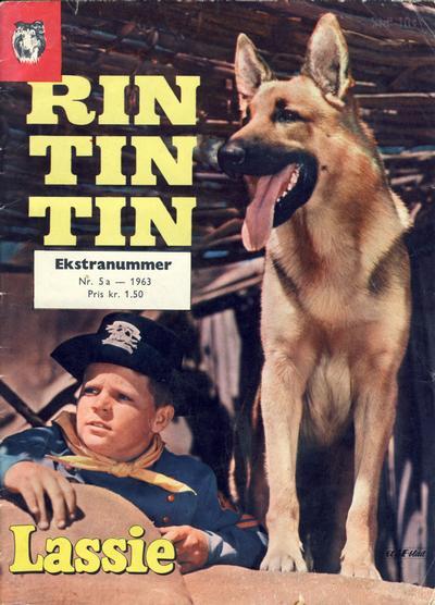Cover for Lassie Ekstra Rin-Tin-Tin [Rin Tin Tin] (Serieforlaget / Se-Bladene / Stabenfeldt, 1959 series) #5a/1963