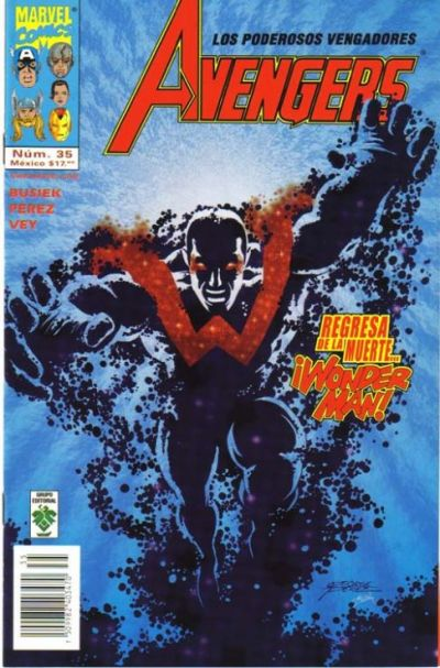 Cover for The Avengers (Grupo Editorial Vid, 1998 series) #35