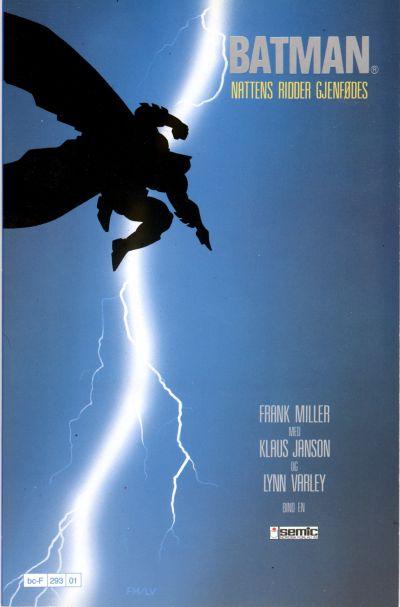 Cover for Batman: Nattens ridder (Semic, 1987 series) #1 - Nattens Ridder gjenfødes