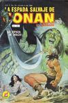 Cover for La Espada Salvaje de Conan el Bárbaro (Novedades, 1988 series) #35