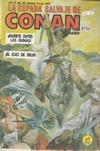 Cover for La Espada Salvaje de Conan el Bárbaro (Novedades, 1988 series) #36