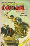 Cover for La Espada Salvaje de Conan el Bárbaro (Novedades, 1988 series) #39