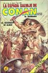 Cover for La Espada Salvaje de Conan el Bárbaro (Novedades, 1988 series) #41