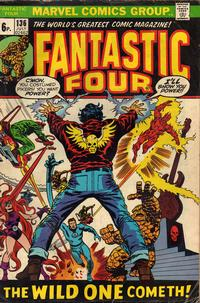 Cover for Fantastic Four (Marvel, 1961 series) #136 [Regular Edition]
