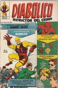 Cover Thumbnail for Diabolico (Novedades, 1981 series) #1