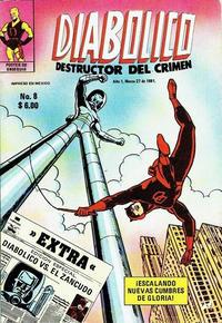 Cover Thumbnail for Diabolico (Novedades, 1981 series) #8
