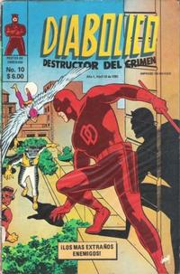 Cover Thumbnail for Diabolico (Novedades, 1981 series) #10