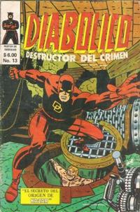 Cover Thumbnail for Diabolico (Novedades, 1981 series) #13