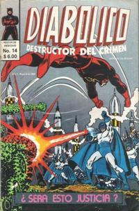 Cover Thumbnail for Diabolico (Novedades, 1981 series) #14