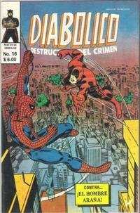 Cover Thumbnail for Diabolico (Novedades, 1981 series) #16