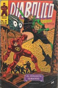 Cover Thumbnail for Diabolico (Novedades, 1981 series) #20