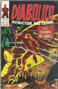 Cover Thumbnail for Diabolico (Novedades, 1981 series) #21