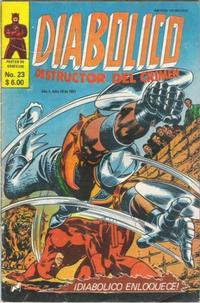 Cover Thumbnail for Diabolico (Novedades, 1981 series) #23