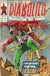 Cover Thumbnail for Diabolico (Novedades, 1981 series) #24
