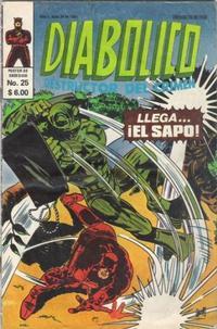 Cover Thumbnail for Diabolico (Novedades, 1981 series) #25
