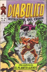Cover Thumbnail for Diabolico (Novedades, 1981 series) #28