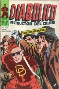 Cover Thumbnail for Diabolico (Novedades, 1981 series) #29