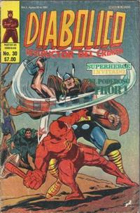 Cover Thumbnail for Diabolico (Novedades, 1981 series) #30
