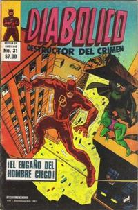 Cover Thumbnail for Diabolico (Novedades, 1981 series) #31