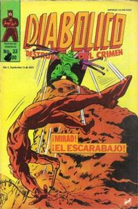 Cover Thumbnail for Diabolico (Novedades, 1981 series) #33