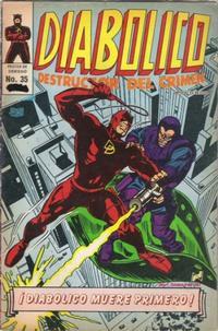 Cover Thumbnail for Diabolico (Novedades, 1981 series) #35