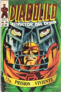 Cover Thumbnail for Diabolico (Novedades, 1981 series) #38
