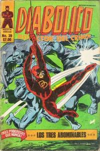 Cover Thumbnail for Diabolico (Novedades, 1981 series) #39
