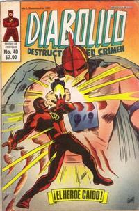 Cover Thumbnail for Diabolico (Novedades, 1981 series) #40