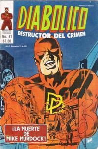 Cover Thumbnail for Diabolico (Novedades, 1981 series) #41