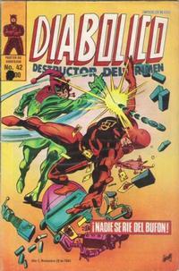 Cover Thumbnail for Diabolico (Novedades, 1981 series) #42