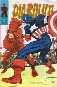 Cover Thumbnail for Diabolico (Novedades, 1981 series) #43