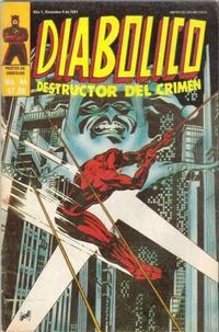 Cover Thumbnail for Diabolico (Novedades, 1981 series) #44