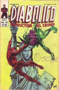 Cover Thumbnail for Diabolico (Novedades, 1981 series) #45